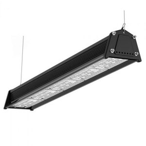 Ra70 Ra80 150W Dimmable LED Linear High Bay Light With Motion Sensor