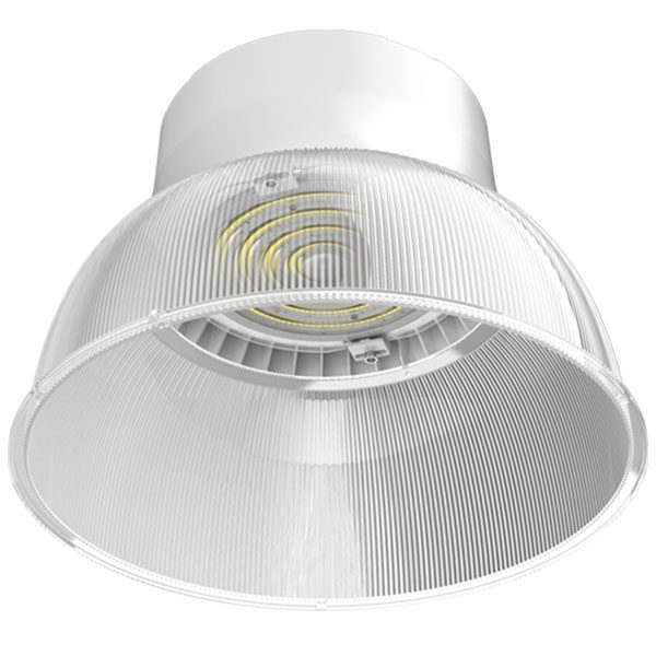 Universal Voltage 120-277V 250W MH Equal 100W Round LED High Bay Light