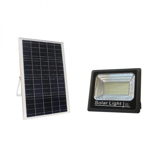 100 watts most powerful solar flood light system for highway lighting