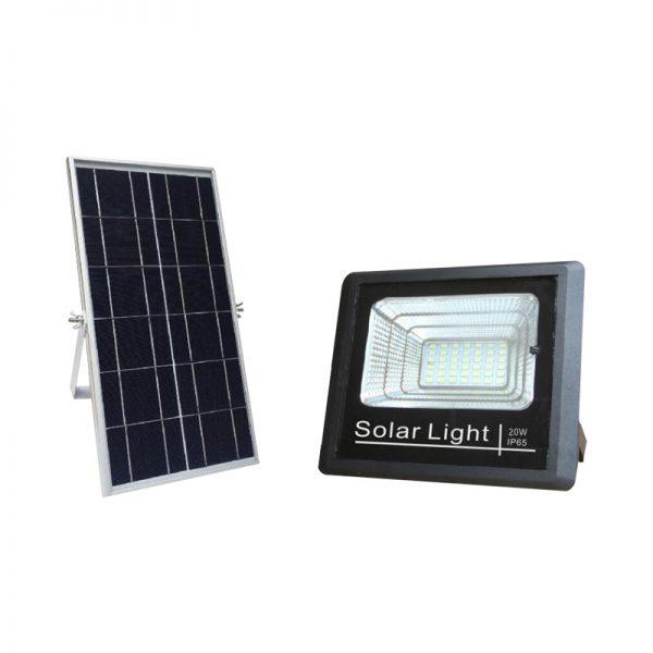 Screwfix solar flood light 20 watts all night lighting with timer