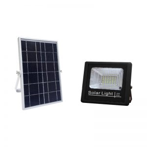 wall mounted 10w solar flood light with switch control